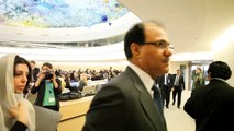 OIC members walk out of the Human Rights Council Geneva