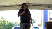 Bryan Clark sings Blueberry hill Can't Stop Loving You' Elvis Week 2010