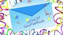 Joyeux anniversaire en francais avec cette carte d'anniversaire musicale spéciale