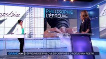 Bac : Adèle Van Reeth a planché sur la philo