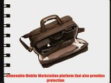 Ohmetric 30076 Notebook Shoulder Case with Removable Workstation and Organizer