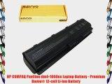 HP COMPAQ Pavilion dm4-1060us Laptop Battery - Premium Bavvo? 12-cell Li-ion Battery