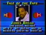 Razor Ruddock v.s James Broad