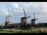 Dutch Windmills in Kinderdijk