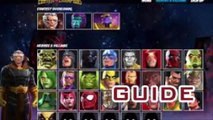 Marvel Contest of Champions Units, Gold and Iso-8 Generator
