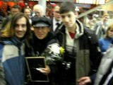 Moscow fans 3 seconds with Klaus Meine