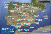 Previsión del tiempo para este jueves 18 de junio