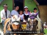 Vacances en roulotte à cheval, dans la Drôme
