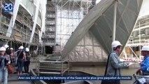Le plus gros paquebot du monde est en France