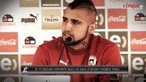 Vidal s'excuse pour son faible taux d'alcool lors de son accident !