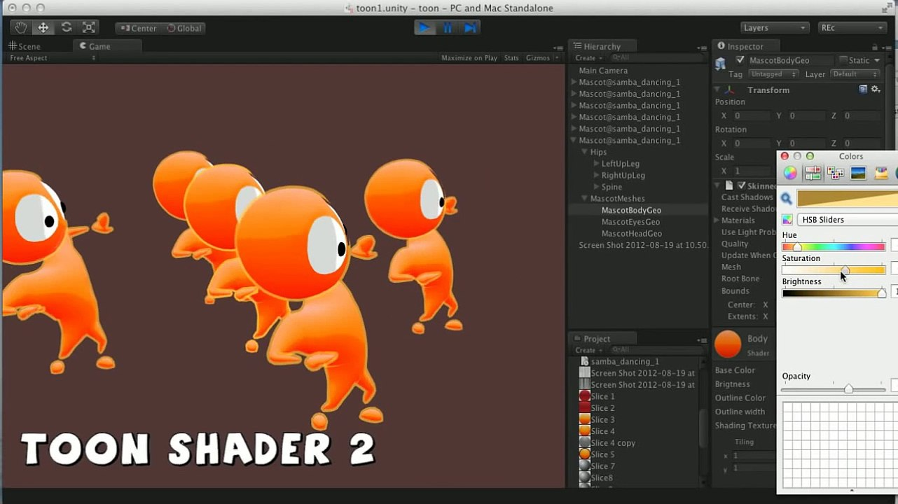 Unity - Toon shader 1 5