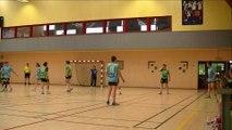 Handball Bretagne finale 2015 honneur régional CPB Rennes vs Landevant 1ère mi-temps