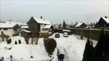 Time Lapse Snow shovels Bad Goisern