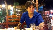 Viet Restaurant with Korean People in Saigon, Vietnam 2014