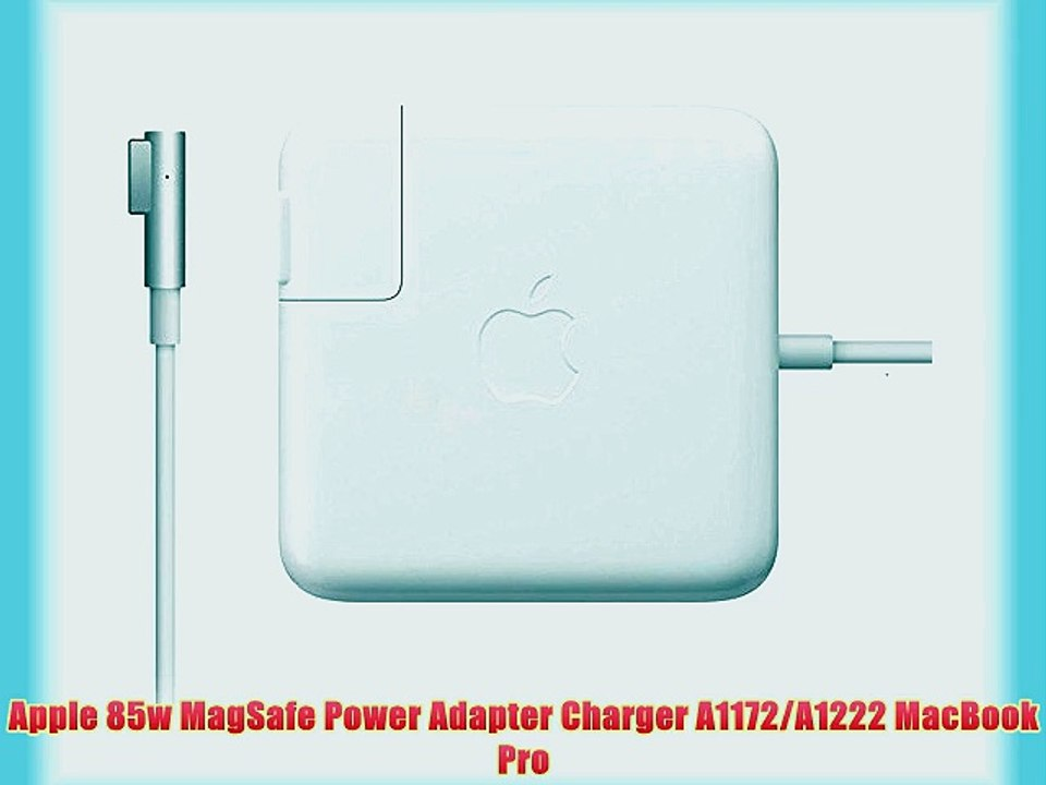 Apple 85w MagSafe Power Adapter Charger A1172A1222 MacBook Pro