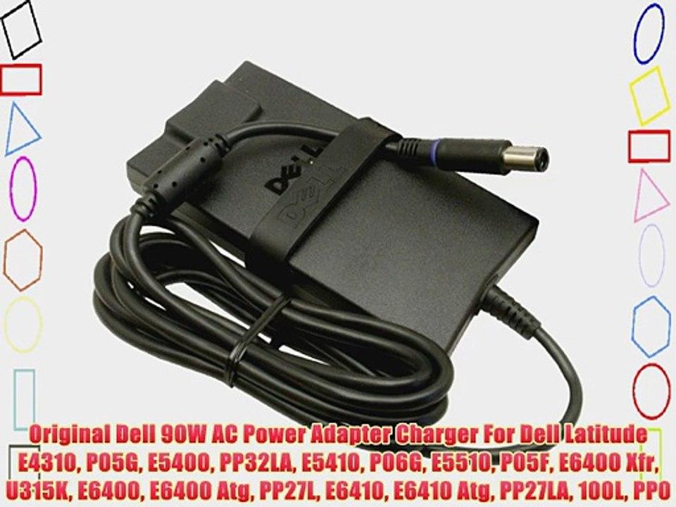 AC Adapter Power Cord Charger 90W For Dell Latitude E5400 E5410 E5420 E5420M