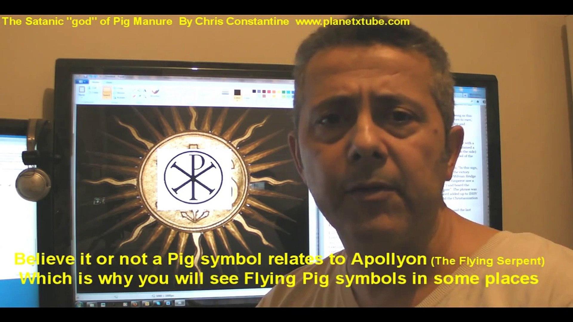 Satanic Religious Symbols in Christian Churches