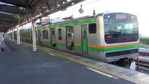 E231系1000番台横コツK-39編成 10両 326M普通列車東京行き JR東日本 東海道本線 熱海駅5番線発車