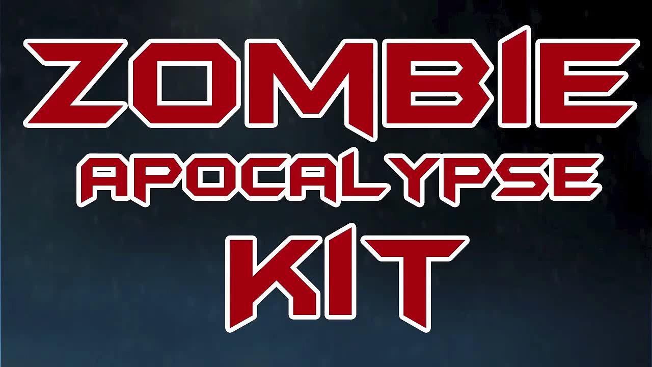 Zombie Apocalypse Tomorrow | CDC Survival Kit