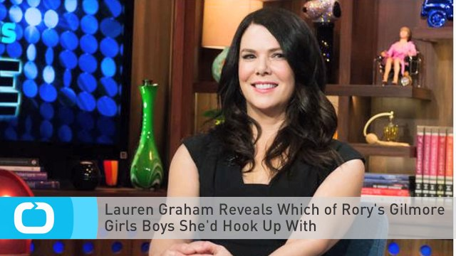 Lauren Graham Reveals Which of Rory's Gilmore Girls Boys She'd Hook Up With