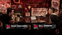 Mark Wahlberg Puts Tom Brady Over Larry Bird | B.S. Report With Mark Wahlberg