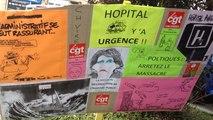 Manifestation pour défendre l'hopital