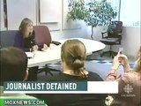 CANADIAN POLICE STATE  Amy Goodman Detained At The Canadian Border