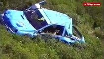 Rallye de la Ciotat : l'accident  de Jézéquel et Leroy en 2000