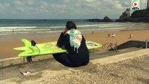 Biarritz: Petit Surf cool à la Cote des Basques - Euskadi Surf TV