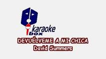 Karaoke Box - Devuélveme A Mi Chica (Al estilo de Hombres G) - (Karaoke)