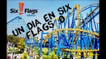 UN DIA EN SIX FLAGS MEXICO//Chicago en los 20's//MarioDVlogs