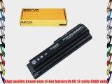 Bavvo 12-cell Laptop Battery for HP/Compaq 484172-001 485041-003 HSTNN-LB73 hstnn-c52c hstnn-c53c