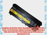 BTExpert? Laptop Battery for Lenovo THINKPAD EDGE 05787VJ EDGE 05787WJ EDGE 05787XJ EDGE 05787YJ