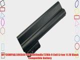 HP/COMPAQ 590544-001 6600mAh/72Wh 9 Cell Li-ion 11.1V Black Compatible Battery
