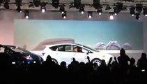Bob Carter, Toyota Motor Sales U S A  inc , introduces Prius Family in Detroit, USA   NAIAS 2011