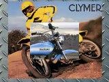 Clymer Manuals Suzuki Dirt Bike Motocross MX Off Road Dual Sport Motorcycle Repair Manual Video