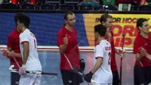 Russia vs Iran - Highlights Men's Indoor Hockey World Cup 2015 Germany Quarter-Final