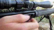 SEMI AUTO .338 Lapua Magnum - Noreen Firearms BAD NEWS @ 956 yards!