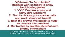 sky habitat singapore | sky habitat | singapore sky habitat Call 83990114