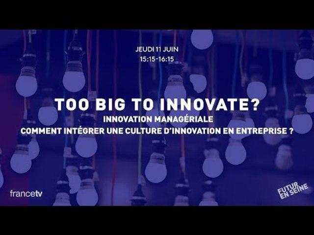 Too Big to Innovate (2) : Innovation managériale (Futur en Seine 2015)