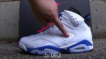 newest 20673 83bcb Air Jordan 6 Gatorade Retro VI Shoes On Feet Review - video ...