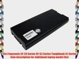 Lenmar Replacement Battery for Panasonic CF-29 CF-52 Toughbook-51 Replaces OEM Panasonic CF-VZSU29A
