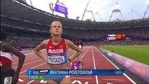 Mariya Savinova (RUS) Wins 800m Gold - London 2012 Olympics