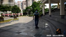 One Wheel Electric Self-balancing Unicycle Scooter Quality Test