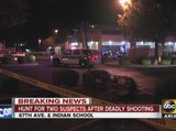 Hunt on for two shooting suspects after deadly shooting