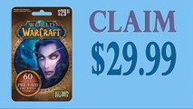 Claim World of Warcraft (WOW) 60-Day Subscription card codes generator $30 [with Proof] [Tested