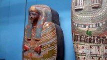 British Museum Egyptian Mummy Exhibits