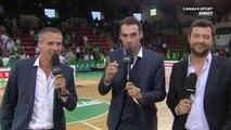 Basket : Vincent Collet met un énorme vent à Fred Forte