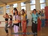 Reportage Cours de Danse Orientale avec Sherazade Bellydance (Paris/France)