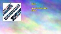 Atomic Blog Skis 2014
